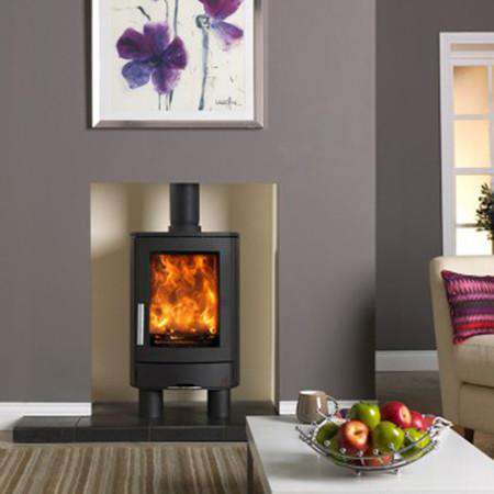ACR Neo 1 Freestanding SE Multi Fuel / Wood Burning Stove - front view