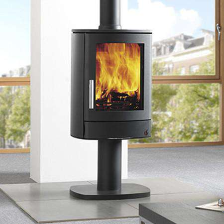 ACR Neo 1 Pedestal SE Multi Fuel / Wood Burning Stove , slight left view