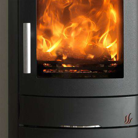 ACR Neo 3 Cupboard Base SE Multi Fuel / Wood Burning Stove front zoom