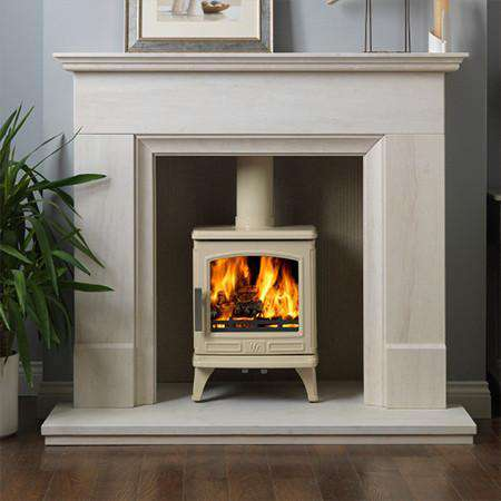 ACR Oakdale SE Multi Fuel / Wood Burning Stove - white paint