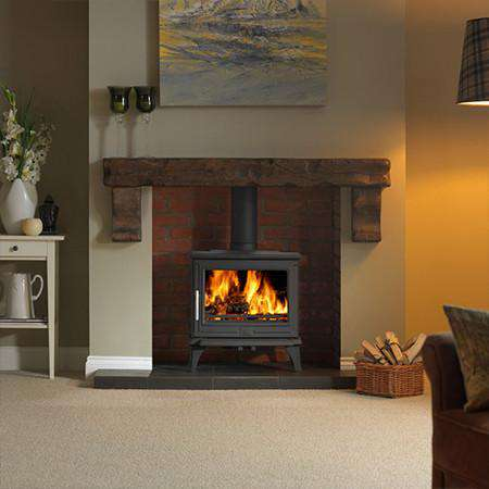 ACR Rowandale SE Multi Fuel / Wood Burning Stove - front view