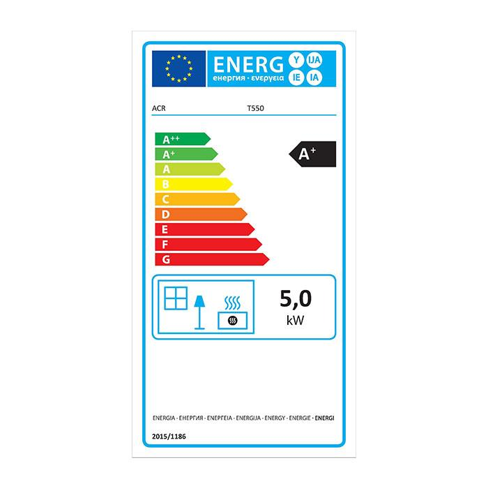 ACR Tenbury T550 - Energy Label