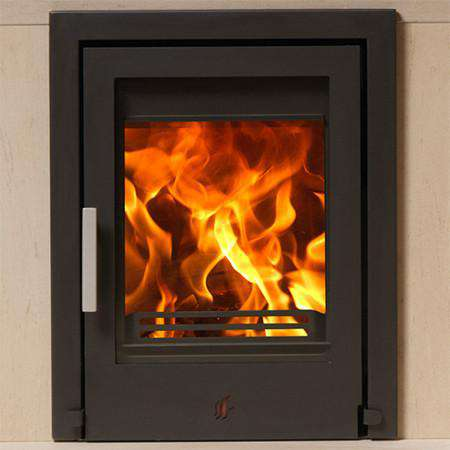 ACR Tenbury Inset SE Multi Fuel / Wood Burning Stove - zoom no logo