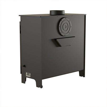 Aarrow Ecoburn Plus 11 Multi Fuel / Wood Burning Stove - back view