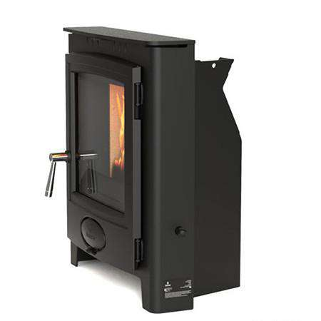 Aarrow Ecoburn Plus 5 Inset Multi Fuel / Wood Burning Stove - side view right
