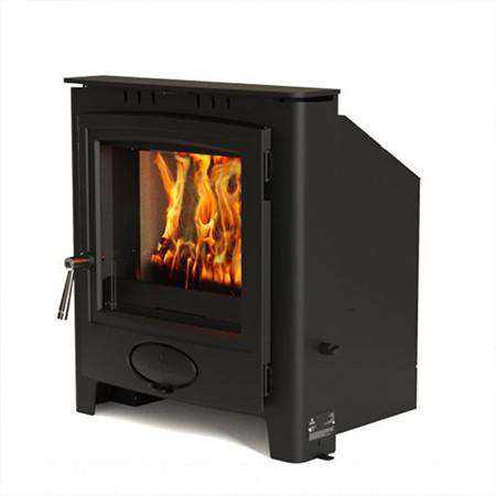 Aarrow Ecoburn Plus 7 Inset Multi Fuel / Wood Burning Stove - front right view
