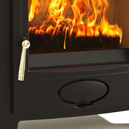 Aarrow Ecoburn Plus 9 Multi Fuel / Wood Burning Stove - zoomed front