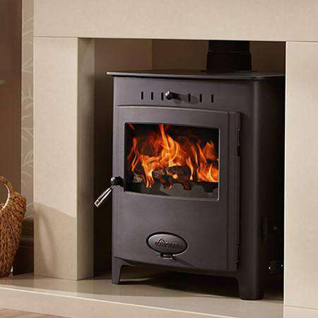 Aarrow Stratford Ecoboiler 12HE Multi Fuel / Wood Burning Boiler Stove - live view