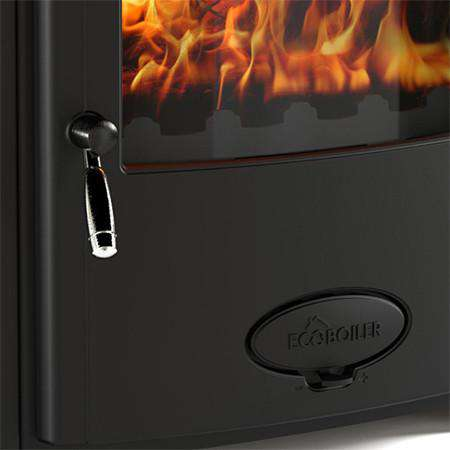 Aarrow Stratford Ecoboiler 16HE Multi Fuel / Wood Burning Boiler Stove - zoomed