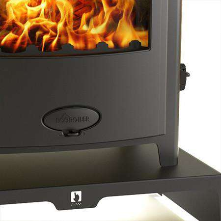 Aarrow Stratford Ecoboiler 25HE Multi Fuel / Wood Burning Boiler Stove - stand zoomed