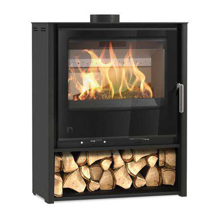 Arada iSeries i600 Mid Slimline Freestanding Multi Fuel / Wood Burning Stove - Stove Supermarket