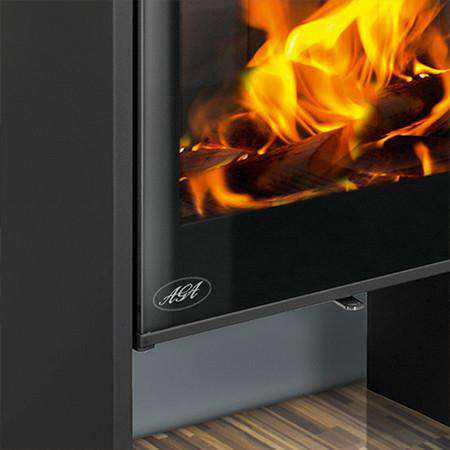 Aga Hanwood Wood Burning Stove - zoomed legs