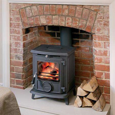 Aga Little Wenlock Classic Multi Fuel / Wood Burning Stove - live view