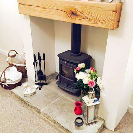 Aga Little Wenlock Classic Multi Fuel / Wood Burning Stove - inglenook