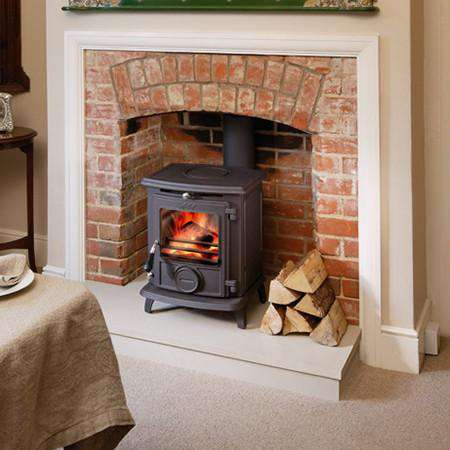 Aga Little Wenlock Classic SE Multi Fuel / Wood Burning Stove - overview no logo