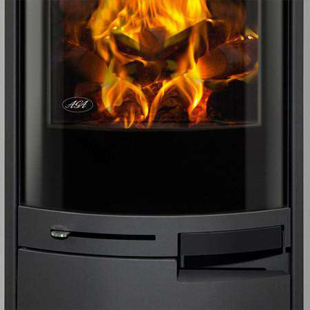 Aga Westbury Wood Burning Stove - door zoom
