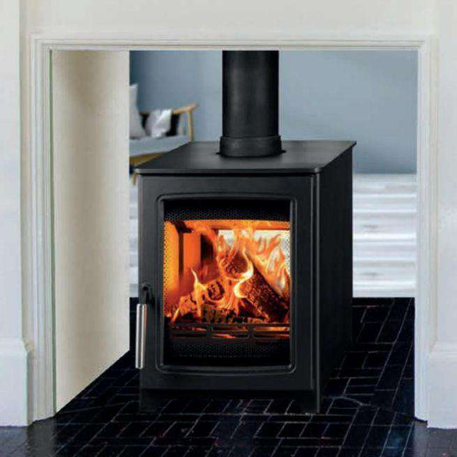 Parkray Aspect 4 Double Sided Double Depth Wood Burning Stove