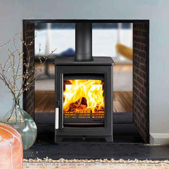 Parkray Aspect 4 Double Sided Single Depth Wood Burning Stove
