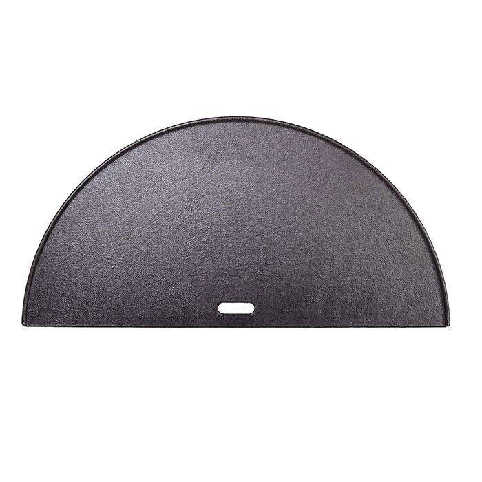 Big Joe - Half Moon Cast Iron Reversible Griddle - Stove Supermarket