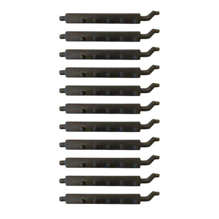 002/CG01S11 - Charnwood Set Of (11) Bottom Grate Bars - Stove Supermarket