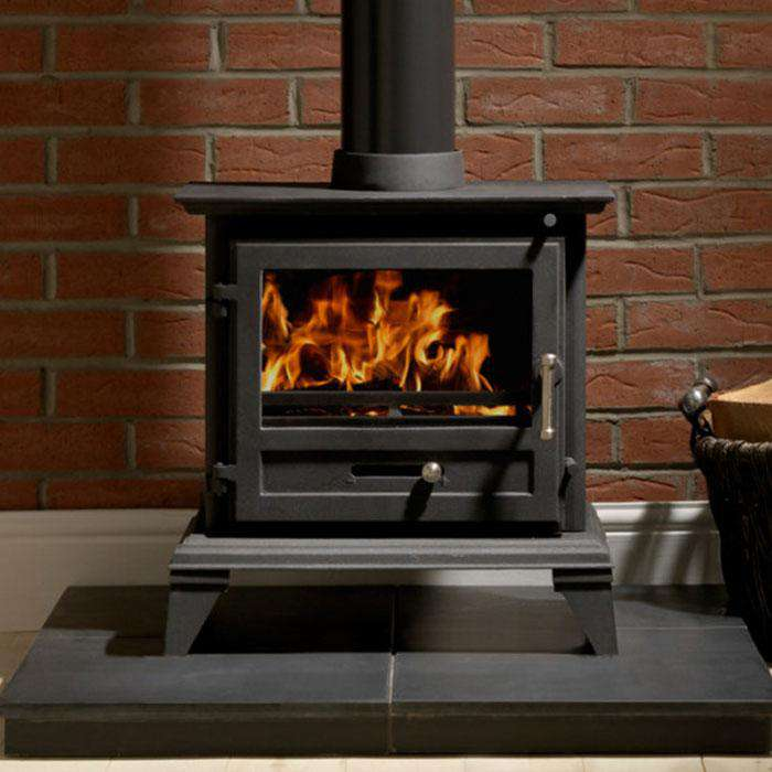 Classic 8 Cleanburn Multi Fuel / Wood Burning Stove - Stove Supermarket