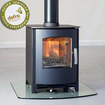 Mendip Churchill 8 Double Sided Multi Fuel / Wood Burning Stove
