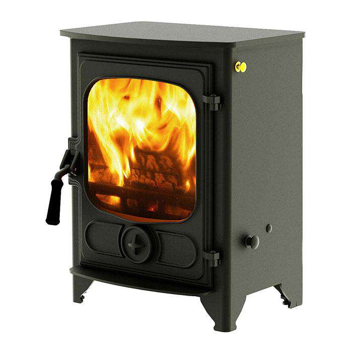 Charnwood Country 4 Multi Fuel / Wood Burning Stove - Stove Supermarket