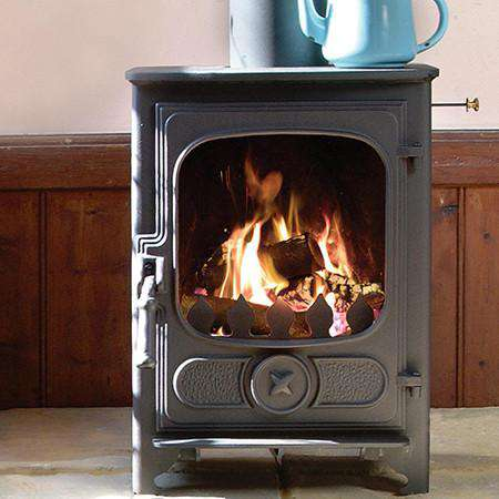 Charnwood Country 4 Wood Burning Stove - live view
