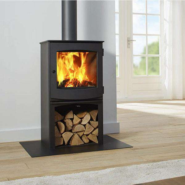 Dik Geurts Ivar 5 Log Store Multi Fuel / Wood Burning Stove - Stove Supermarket