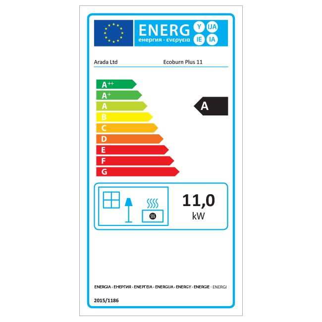 Aarrow Ecoburn Plus 11 - Energy Label