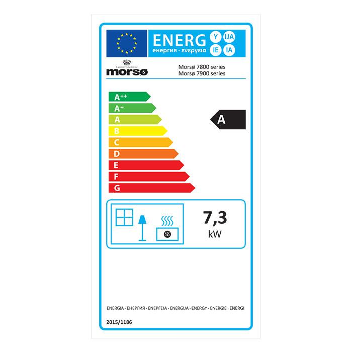Morsø 7970 - Energy Label