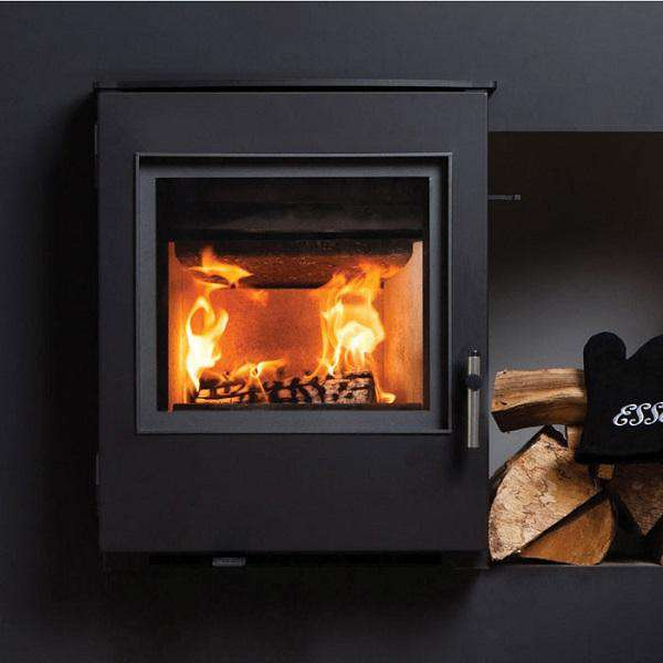 Esse 301 SE Inset Multi Fuel / Wood Burning Stove - Contemporary Door