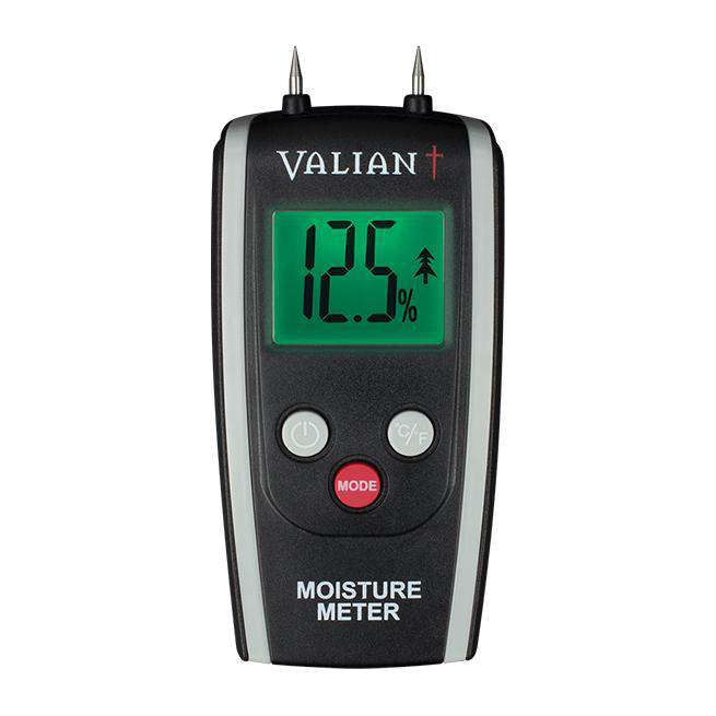 Valiant Colour Change Moisture Meter - Stove Supermarket