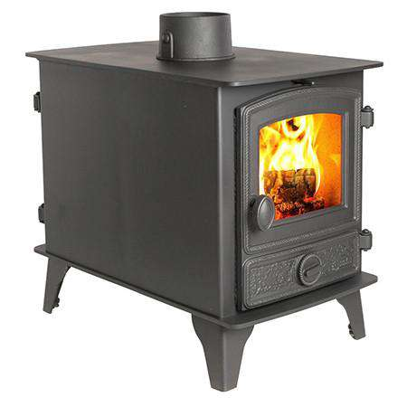 Hunter Hawk 4 Double Sided Wood Burning Stove