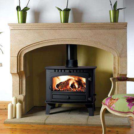 Hunter Herald 14 Multi Fuel / Wood Burning Boiler Stove