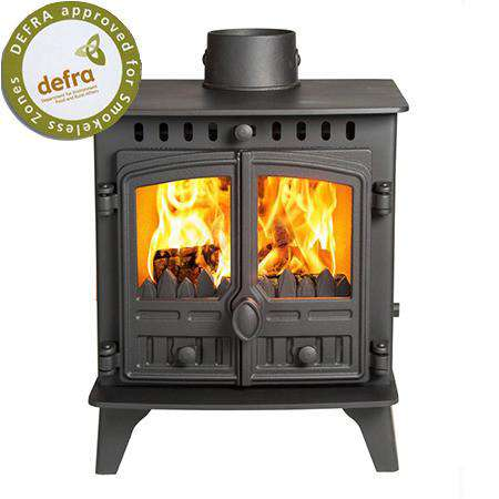 Hunter Herald 4 Multi Fuel / Wood Burning Stove