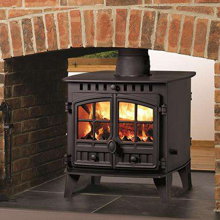 Hunter Herald 6 Double Sided Multi Fuel / Wood Burning Stove