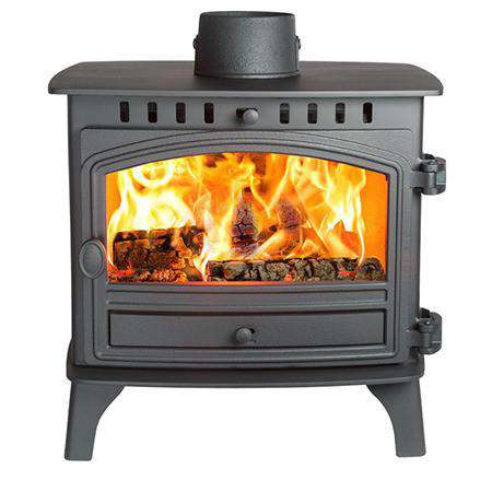 Hunter Herald 8 Double Sided Wood Burning Stove