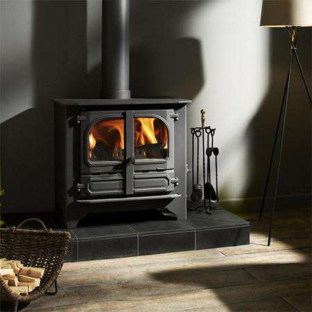 Dunsley Highlander 10 Multi Fuel / Wood Burning Stove live view