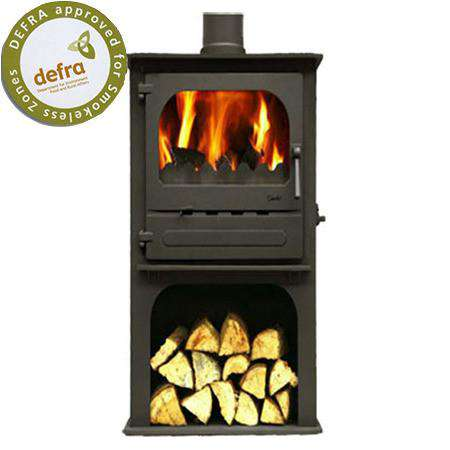 Dunsley Highlander 5 Enviroburn Log Store Multi Fuel / Wood Burning Stove