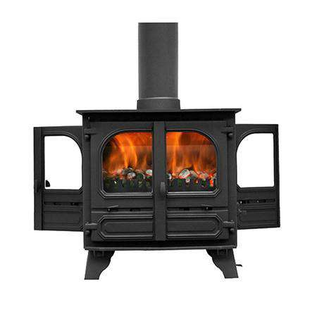 Dunsley Highlander 8 Double Sided Multi Fuel / Wood Burning Stove