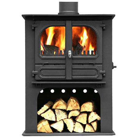 Dunsley Highlander 8 Log Store Multi Fuel / Wood Burning Stove