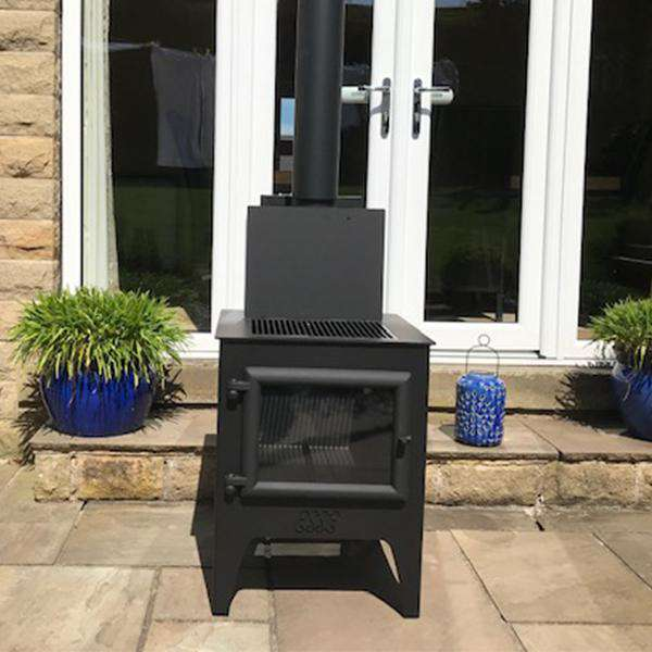 Esse G5 Outdoor Wood Burning Stove & Grill - Stove Supermarket
