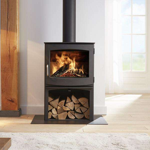 Dik Geurts Ivar 8 Log Store Multi Fuel / Wood Burning Stove - Stove Supermarket