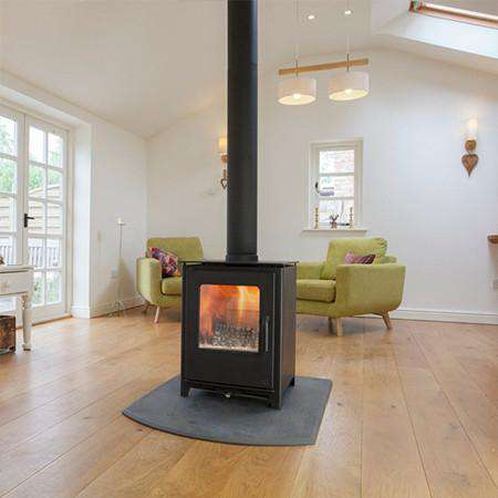 Mendip Loxton 8 Double Sided Multi Fuel / Wood Burning Stove