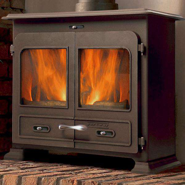 Portway 3 Traditional Multi Fuel / Wood Burning Stove - Stove Supermarket