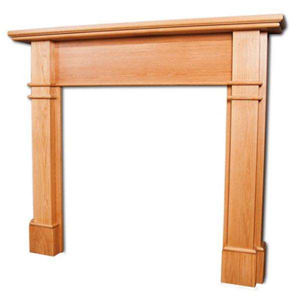 Portway Avington Oak Fire Surround - Stove Supermarket