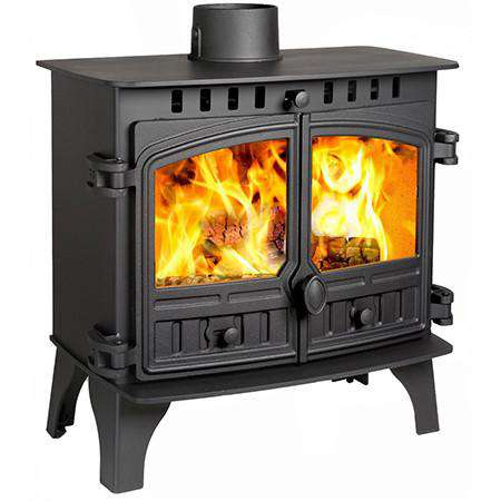 Hunter Slimline 8 Multi Fuel / Wood Burning Stove