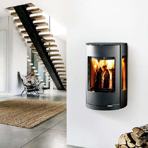 Westfire Uniq 37 Wall Hung SE Wood Burning Stove - Stove Supermarket
