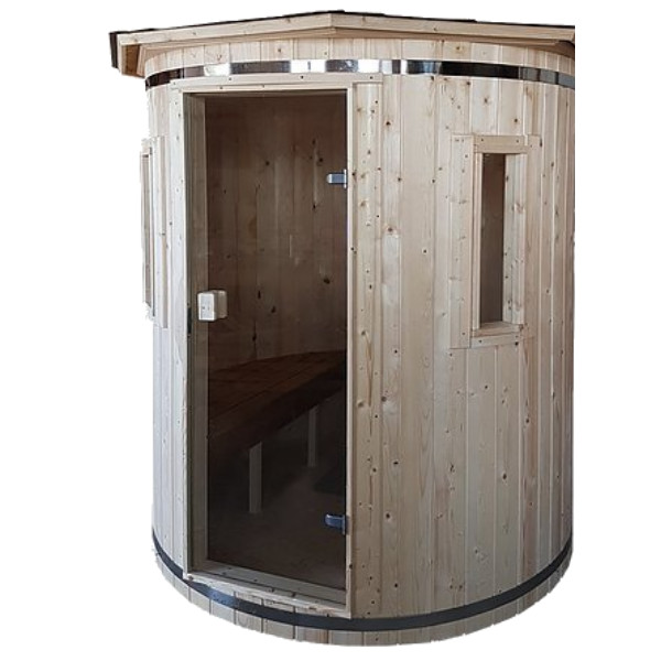Naked Flame Vertical Wood Fired Sauna - Stove Supermarket